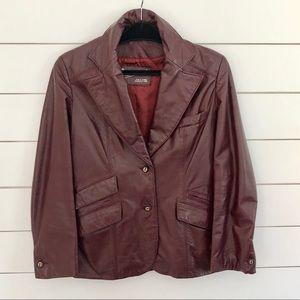 Vintage Etienne Aigner Leather Jacket